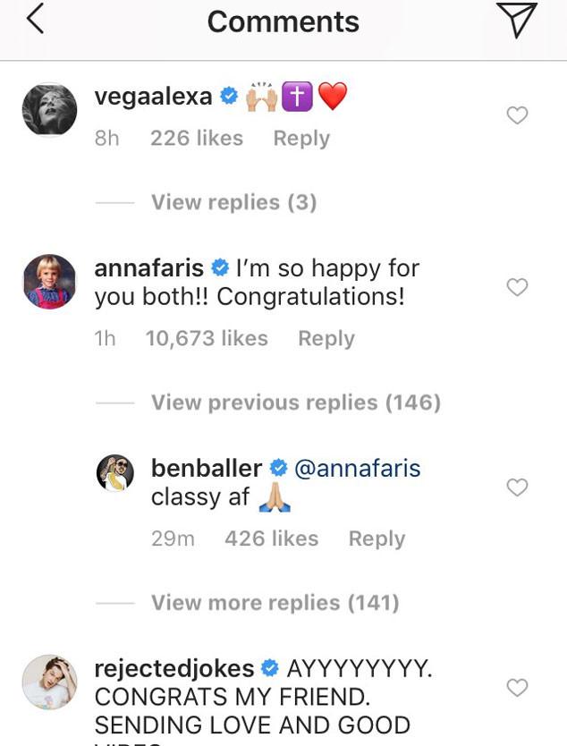 Anna Faris, Chris Pratt, Instagram
