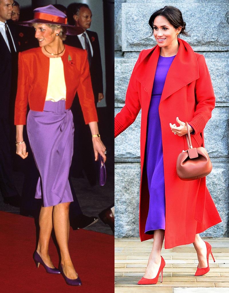 Princess Diana, Meghan Markle