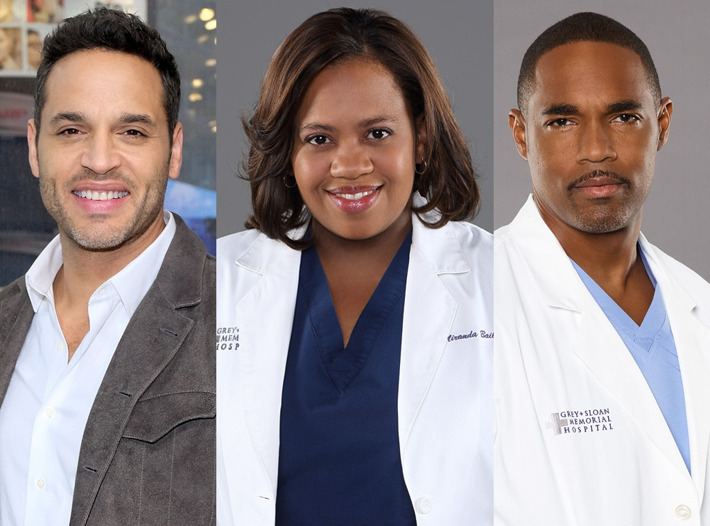 Eli/Bailey/Ben -  After the season six merger of Seattle Grace with local Mercy West hospital, recently divorced Miranda Bailey ( Chandra Wilson ) began a relationship with Ben Warren ( Jason George ), an anesthesiologist among the newcomers. But after watching a doctor die right in front of her in the finale's shooting, she takes some time off and, upon her return, breaks up with Ben.