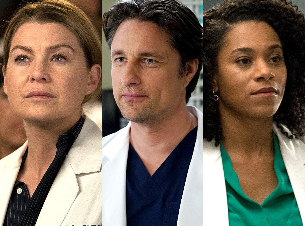 Meredith/Nathan/Maggie -  After Derek's death, Meredith was finally feeling ready to move on when Nathan Riggs ( Martin Henderson ) arrived on the scene in season 12. The only problem?