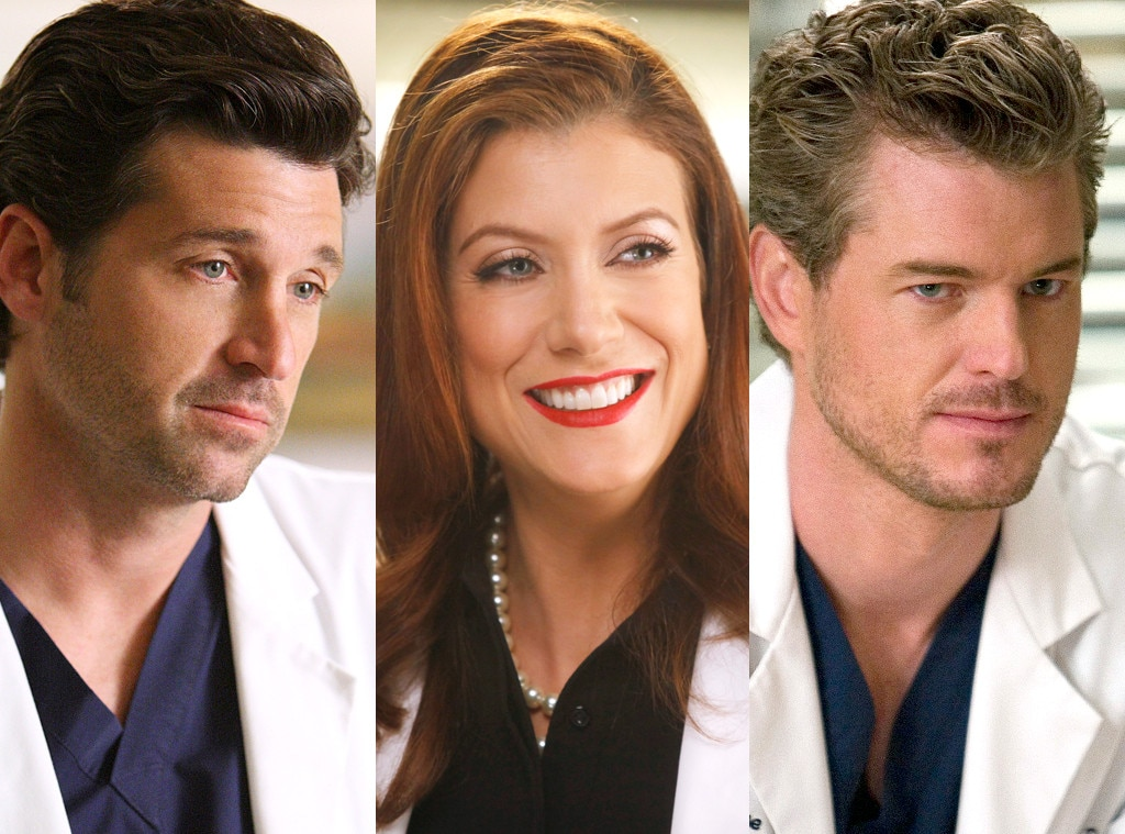 Derek/Addison/Mark -  After Addison arrived to throw a wrench in Meredith and Derek's burgeoning love, we learned exactly what made McDreamy run across the country to get away from his failing marriage. And his name was McSteamy.