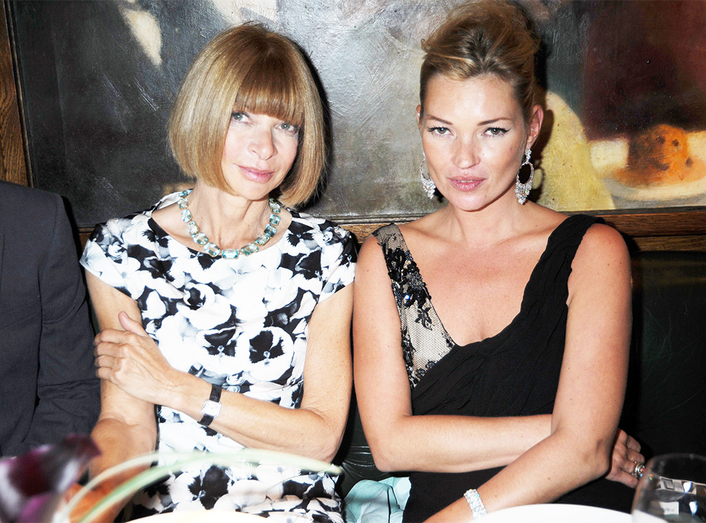 Anna Wintour, Kate Moss, 2009