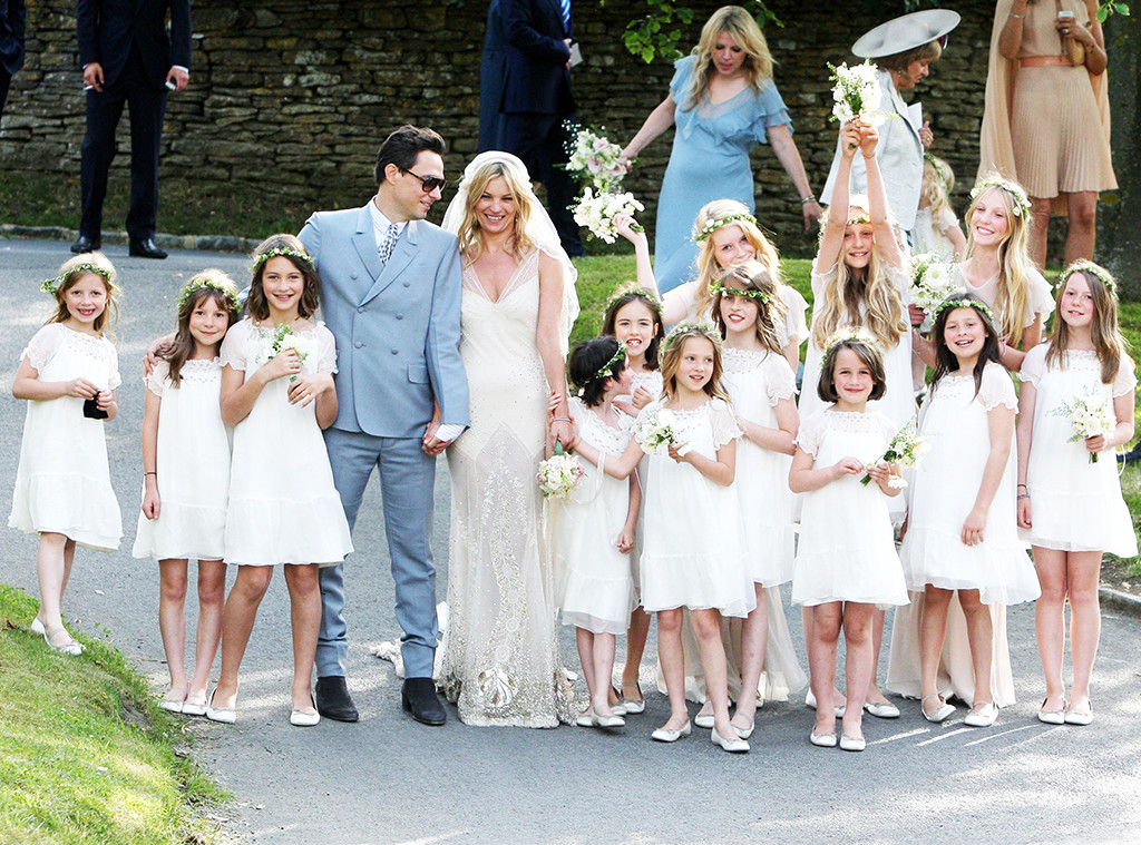 Kate Moss, Jamie Hince, Lila Grace, Wedding Photo