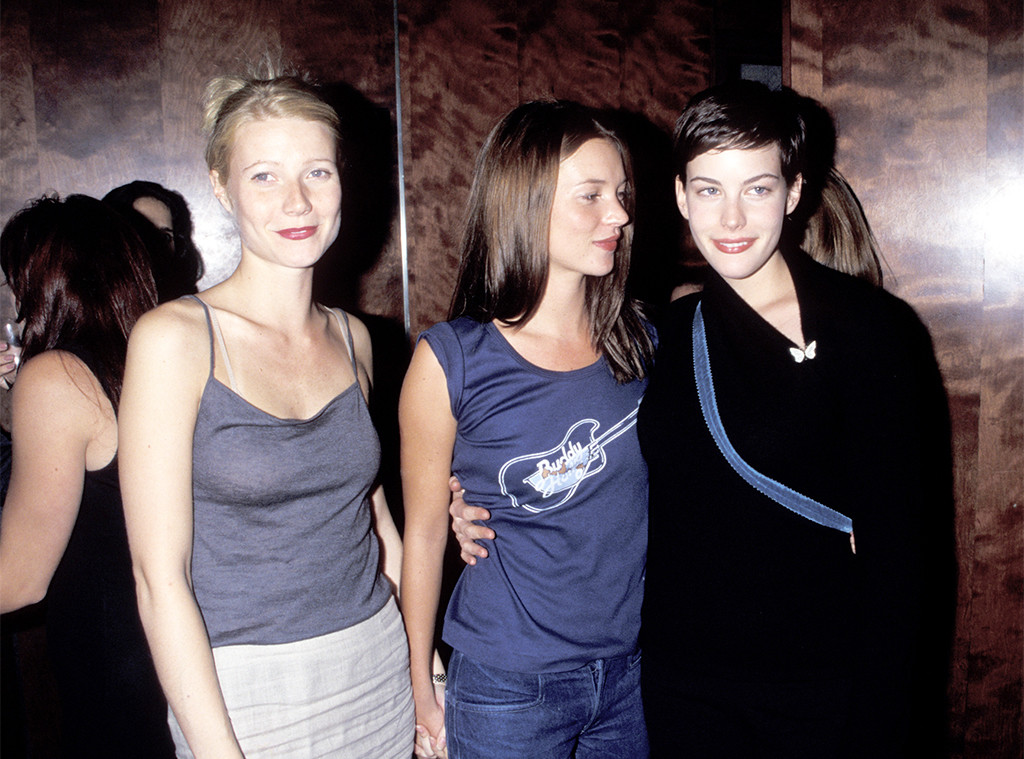 Gwyneth Paltrow, Kate Moss, Liv Tyler, Beck Concert