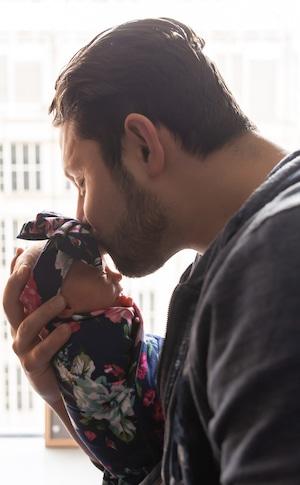 Anthony DAmico, Ashley Petta, Daughter Mila Rose
