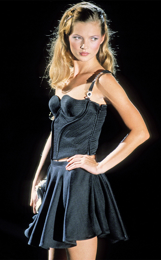 Kate Moss, Versace 1990's