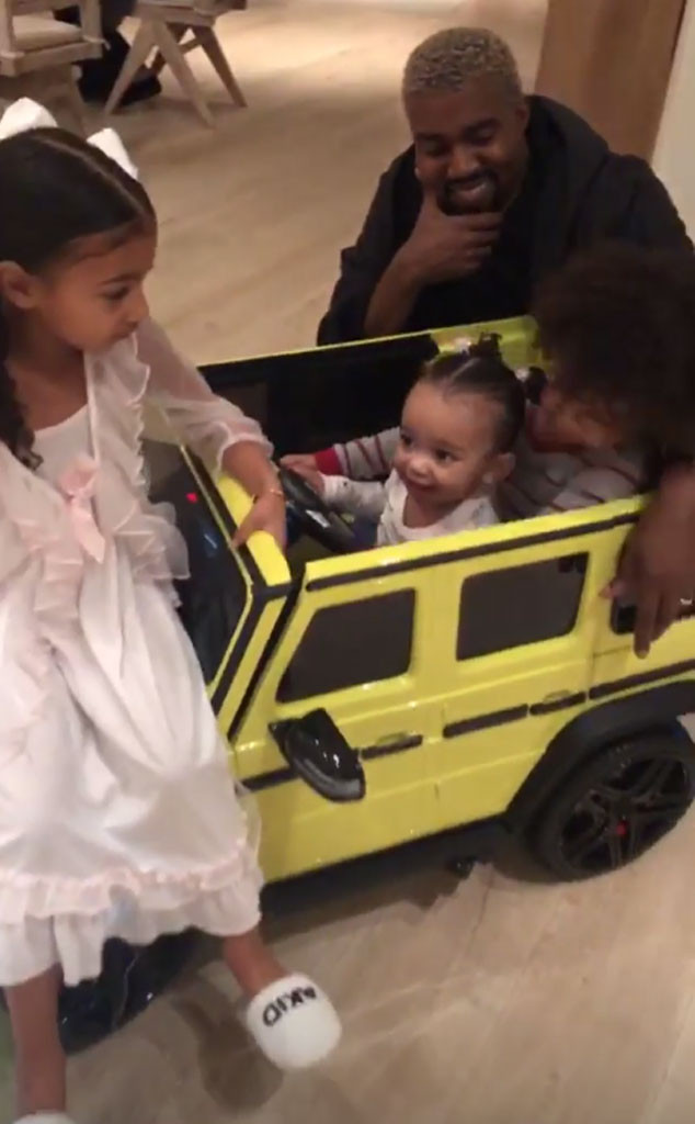 Chicago West, Saint West, North West, Kanye West
