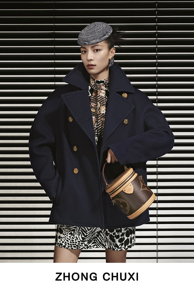 Zhong Chuxi -  Can we talk about that adorable bucket bag?