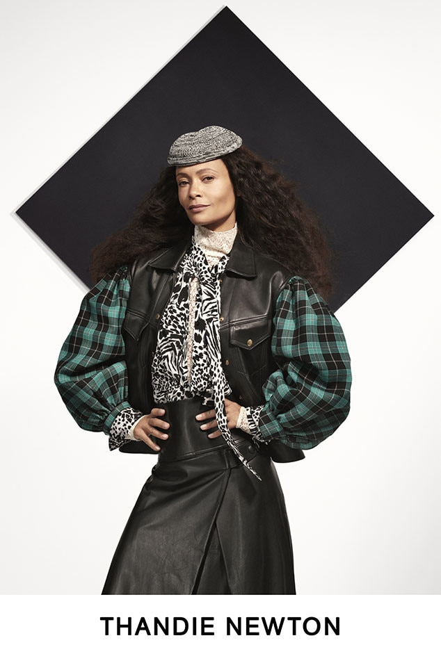 Thandie Newton -  The Westworld actress is a style star in prints.