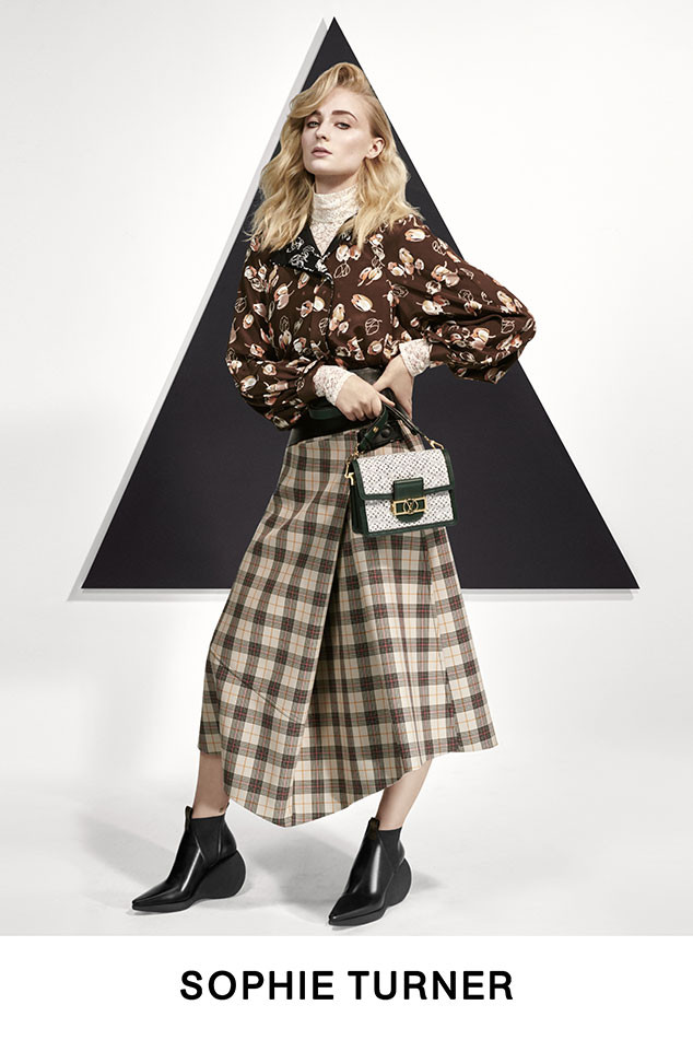 Louis Vuitton, Pre-Fall 2019 Lookbook, Chloe Grace Moretz, Alicia Vikander, Sophie Turner, Jennifer Connelly