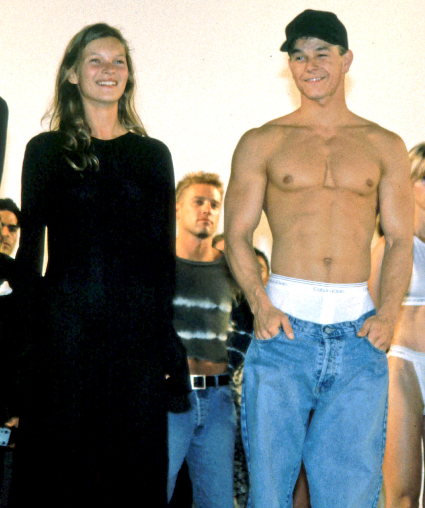 Kate Moss, Mark Wahlberg, 1993