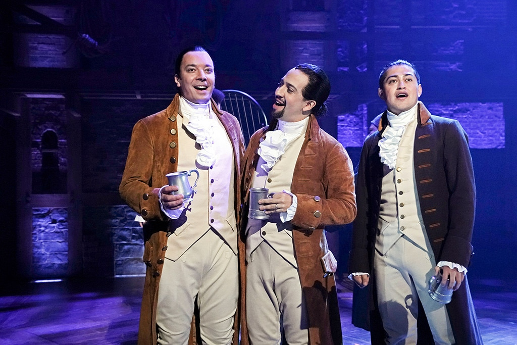 Jimmy Fallon Goes Full Hamilton & Sings With Lin-Manuel Miranda