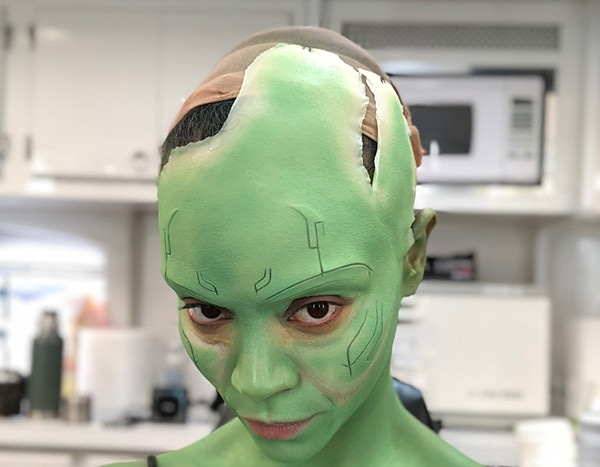 Watch Zoe Saldana Become Gamora In This Time Lapse Video