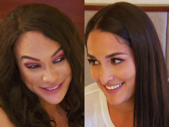 "Watch ""Fully Single"" Nikki Bella Reveal to Nia Jax the Type of Guy She'd Like to Date Next"