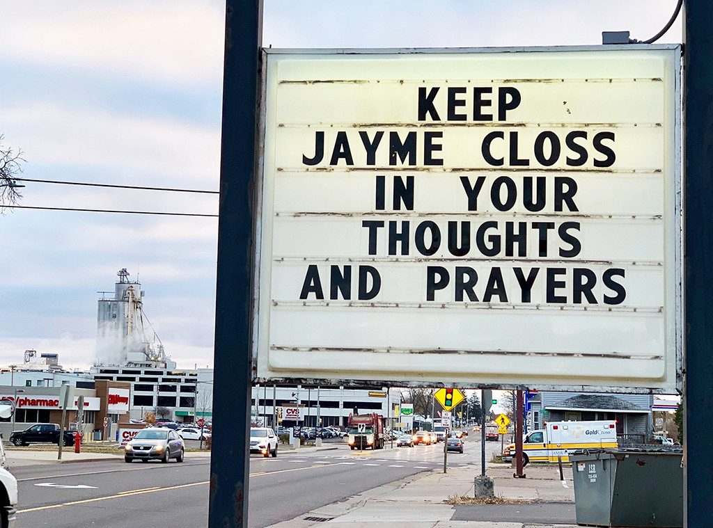 Sign, Jayme Closs Case