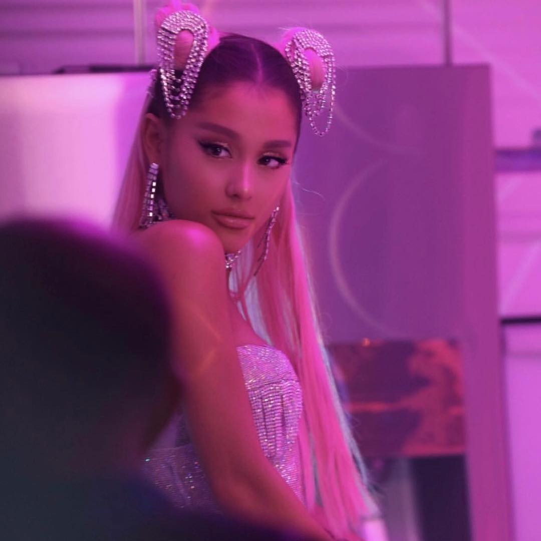 c30c3db82 5 Can't-Miss Details From Ariana Grande's Fierce AF 7 Rings Music ...
