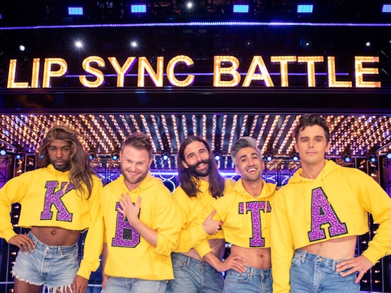 <i>Queer Eye</i>'s Fab 5 Recreate Beyonc&eacute;'s Coachella Set on <i>Lip Sync Battle</i>