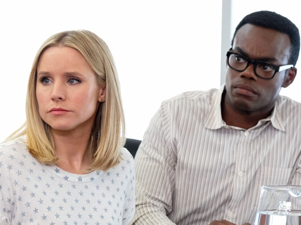How a Shirtless Scene and Playing Dead Changed <i>The Good Place</i>'s William Jackson Harper