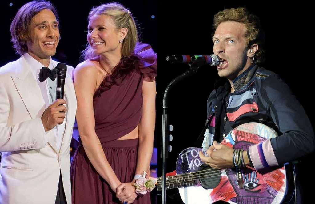 Gwyneth Paltrow, Brad Falchuk, Chris Martin
