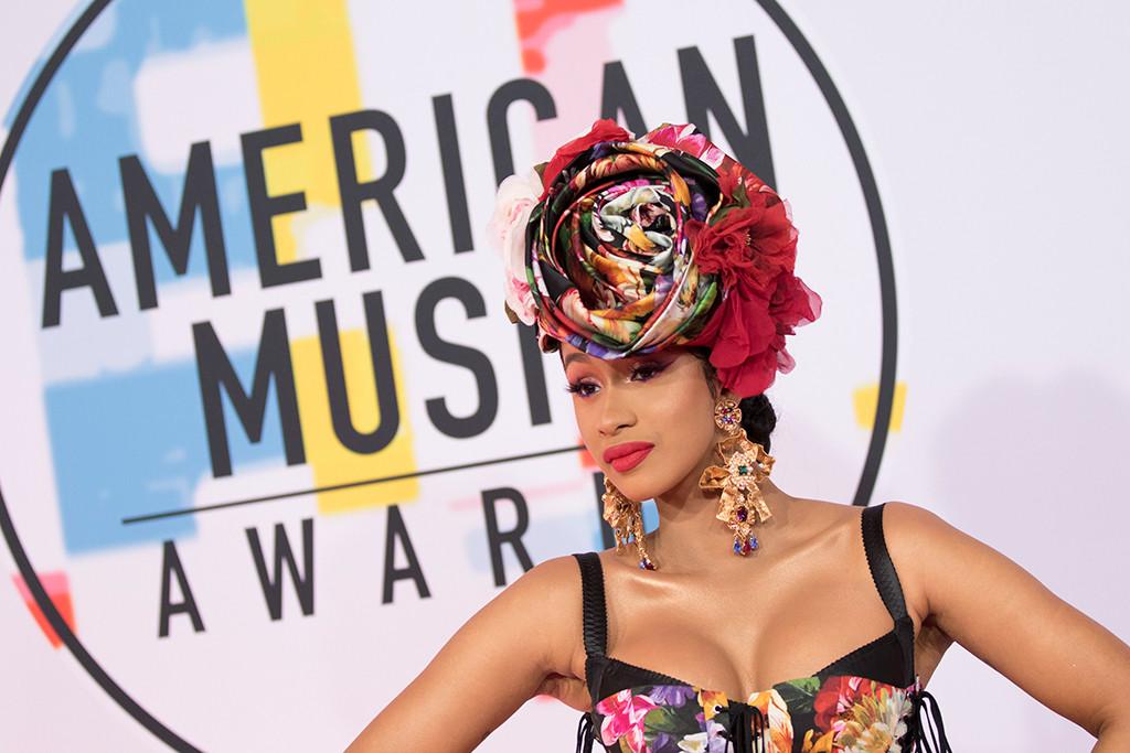 Cardi B, 2018 American Music Awards