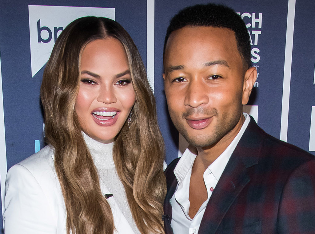 Chrissy Teigen, John Legend, Watch What Happens Live