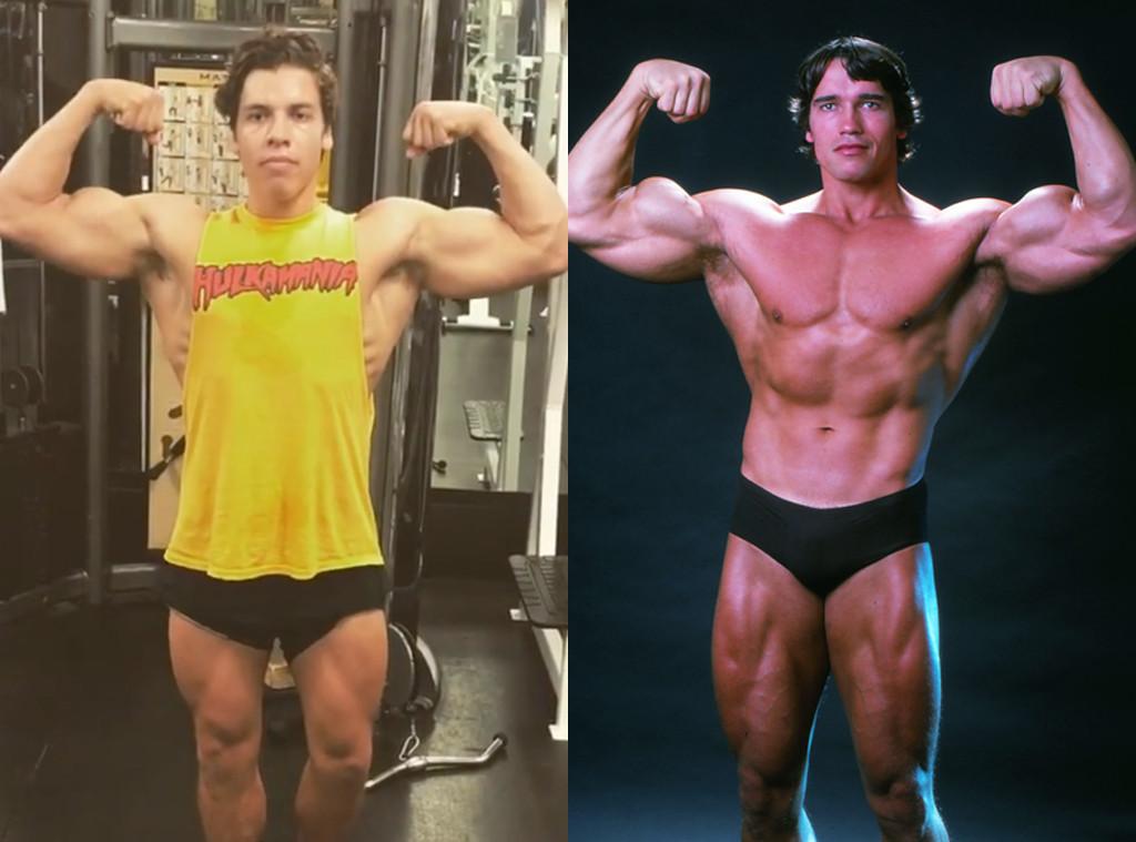 Arnold Schwarzenegger's Son Joseph Baena Recreates Dad's ...