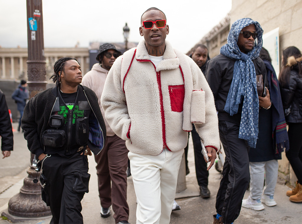 Skepta, 2019 Paris Fashion Week, Louis Vuitton