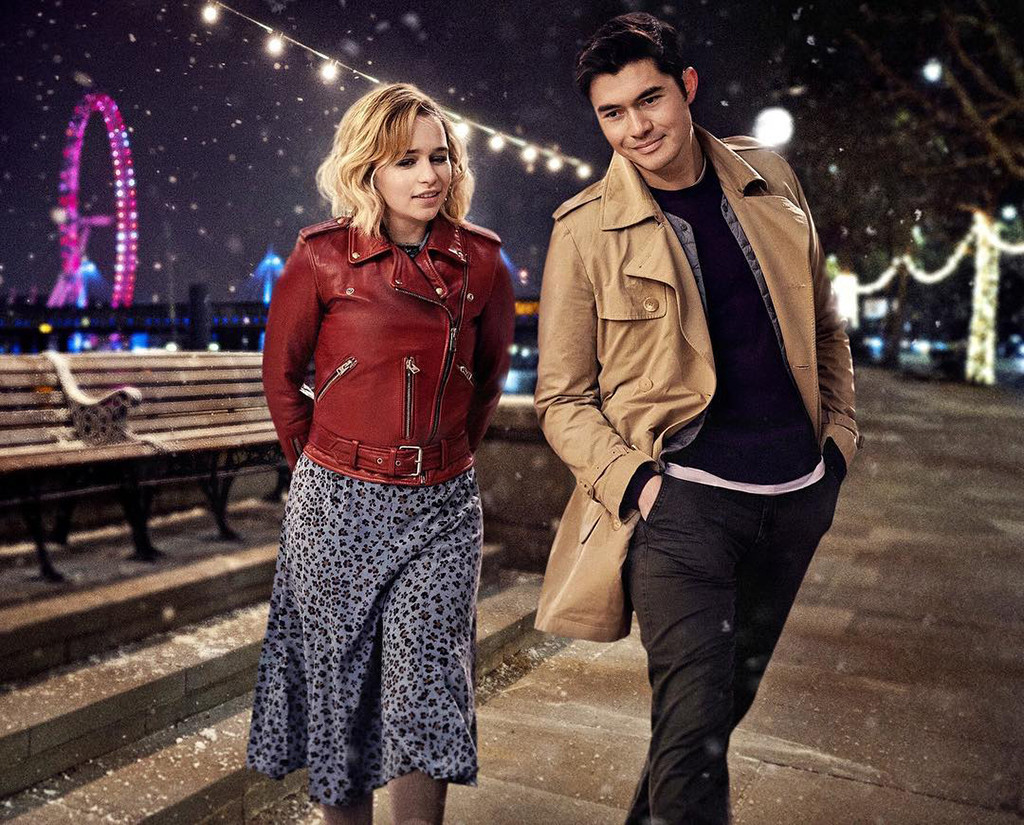 Emilia Clarke and Henry Golding Flirt in Last Christmas First Look
