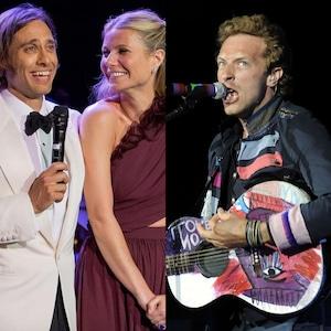 Gwyneth Paltrow, Brad Falchuk, Chris Martin