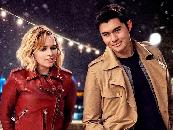 Emilia Clarke and Henry Golding Flirt in <i>Last Christmas</i> First Look