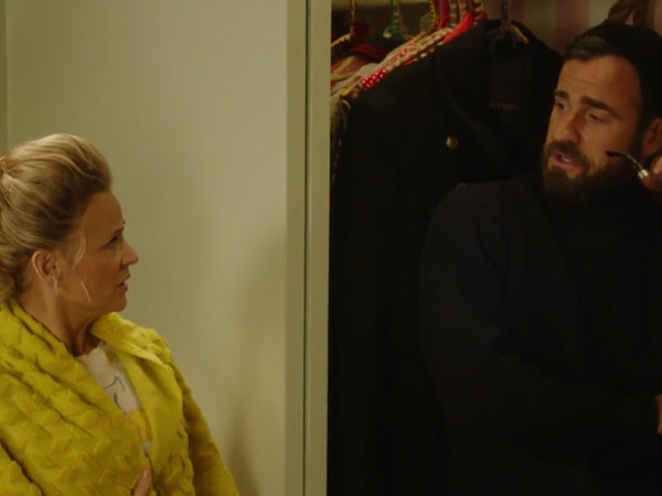 Justin Theroux Is in a Closet, There's a Giant Cat and Guest Stars Galore&mdash;This Is <I>At Home With Amy Sedaris</i> Season 2</I>
