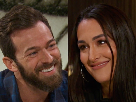 Reunited! Nikki Bella & Artem Chigvintsev Can't Stop Smiling During Lunch Date on <i>Total Bellas</i>