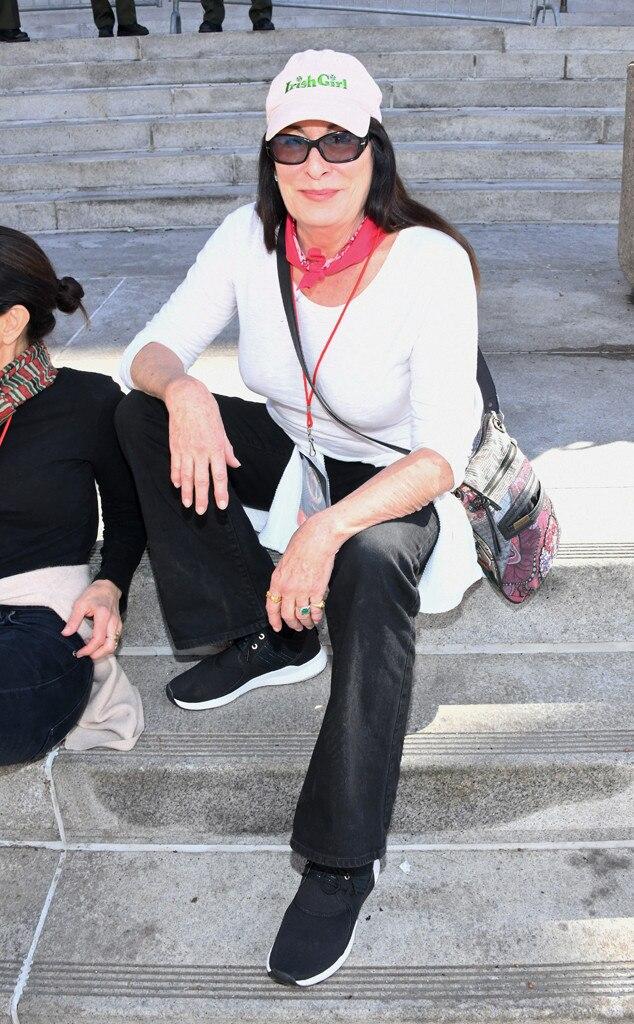 Anjelica Huston, 2019 Women's March
