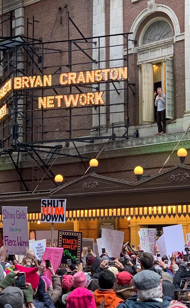 Bryan Cranston, 2019 Women's March