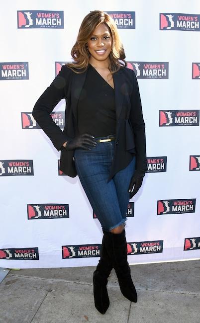 Laverne Cox, 2019 Women's March