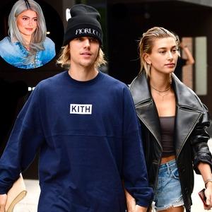 Kylie Jenner, Justin Bieber, Hailey Baldwin