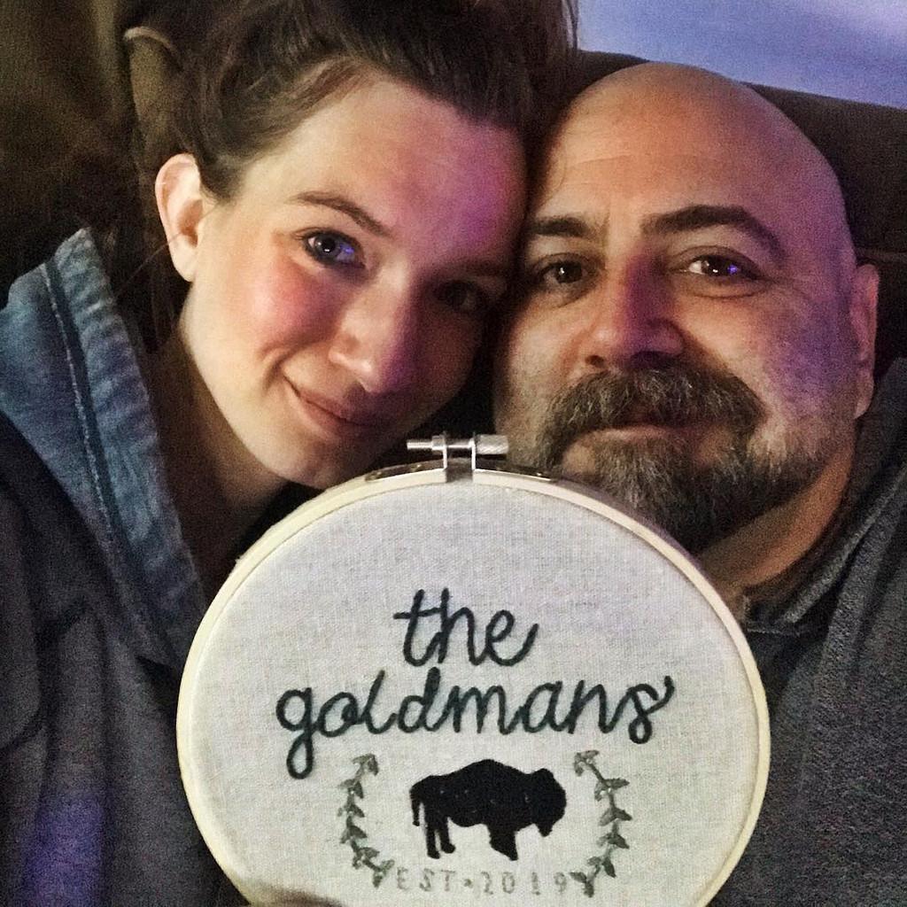 Food Network Star Duff Goldman Marries Girlfriend Johnna Under A T