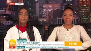 Drea Kelly, Joann Kelly, Buku Abi, Good Morning Britain