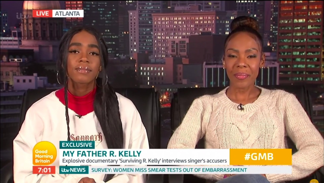 R Kellys Ex Wife And Daughter Reveal Theyre Torn Over Abuse
