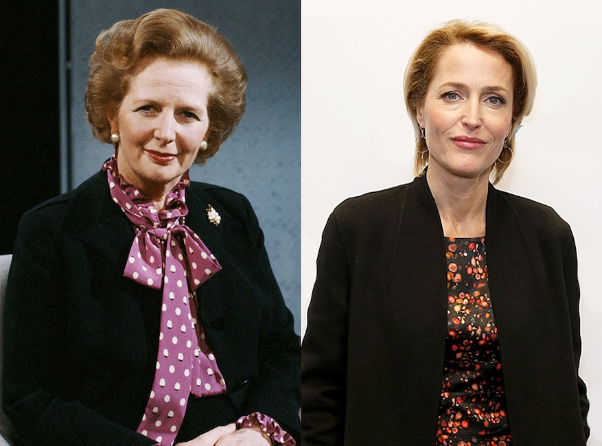 Margaret Thatcher, Gillian Anderson, The Crown
