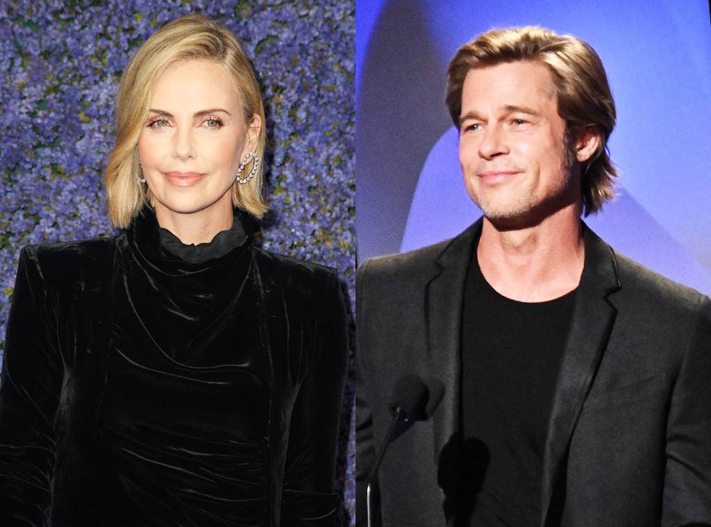 Charlize Theron, Brad Pitt