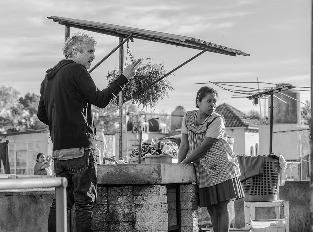 Alfonso Cuaron, Yalitza Aparicio, Roma