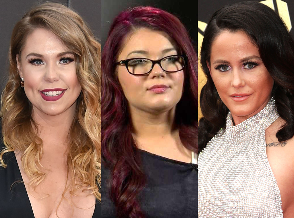 Jenelle Evans, Kailyn Lowry, Amber Portwood