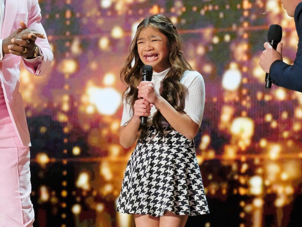 <i>America's Got Talent</I>: See the Performance That Got Angelica Hale Her Second Golden Buzzer</i>