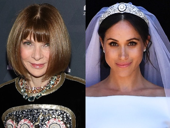 What Anna Wintour Really Thought of Meghan Markle's Wedding Dress