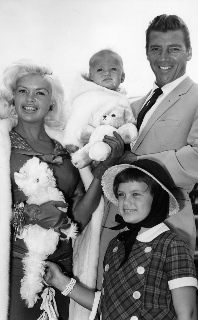 Jayne Mansfield, Mickey Hargitay, Mariska Hargitay, Mickey Hargitay Jr.