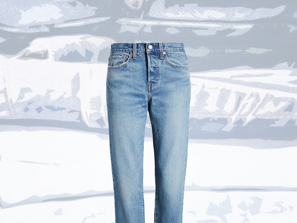 Shop These On-Trend Denim Pants