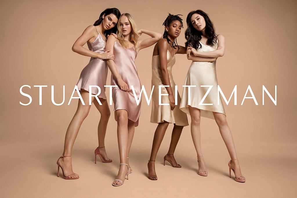 Kendall Jenner, Willow Smith, Stuart Weitzman, Spring 2019 Campaign