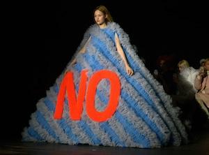 Model, Viktor & Rolf, Haute Couture, 2019 Paris Fashion Week
