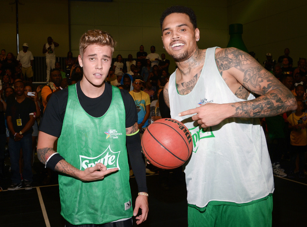 Justin Bieber, Chris Brown